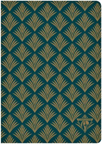 Notitieboek Neo Deco A5 48vel lijn emerald groen