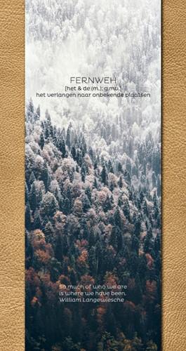 Travel Journal Fernweh bruin