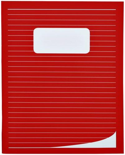 Schrift 210x165mm lijn 80blz assorti