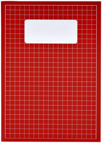 Schrift A4 ruit 10mm 80blz assorti