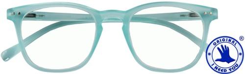 Leesbril I Need You Frozen +1.50 dpt blauw