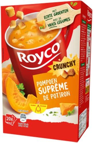 Royco pompoensoep Supreme met croutons 20 zakjes
