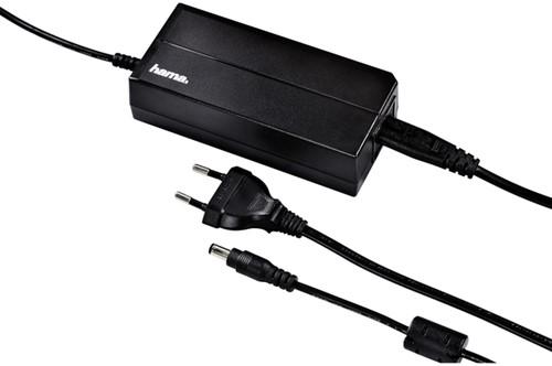Adapter Hama notebook universeel 15-24V 70W zwart