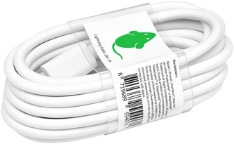 Kabel Green Mouse USB Lightning-A 2 meter wit