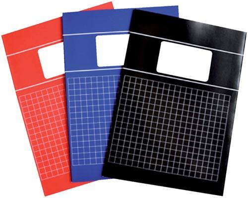 Schrift Verhaak Basic A4 80blz ruit 10mm assorti
