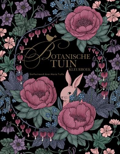Kleurboek volwassenen Botanische tuin
