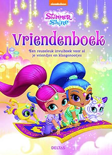 Vriendenboek Deltas Shimmer and Shine