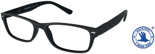 Leesbril +1.00 Feeling zwart