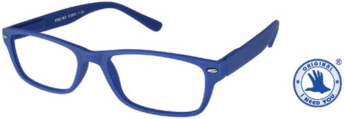 Leesbril +2.50 Feeling blauw
