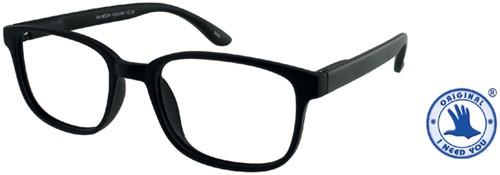 Leesbril +1.50 regenboog zwart