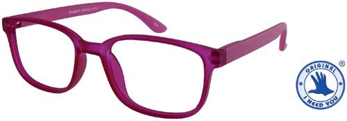 Leesbril X +3.00 Regenboog Roze