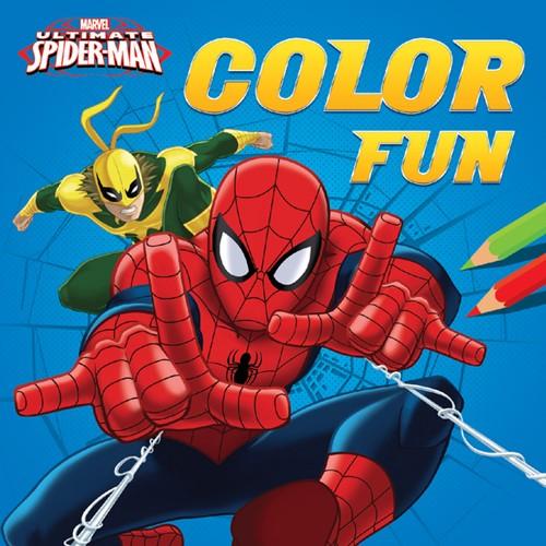 Kleurboek Marvel Spiderman color fun